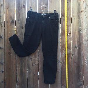 Paige Black distressed Boyfriend Jeans Pants 27